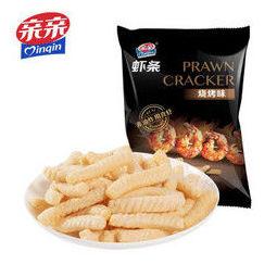 PLUS会员:Qinqin 亲亲 鲜虾条 80g*1包