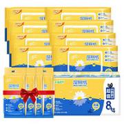 Breeze 清风 湿厕纸 40片8包+10片4包(200*150mm)¥24.88 3.7折 比上一次爆料降低 ¥1.85