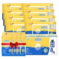 Breeze 清风 湿厕纸 40片8包+10片4包(200*150mm)