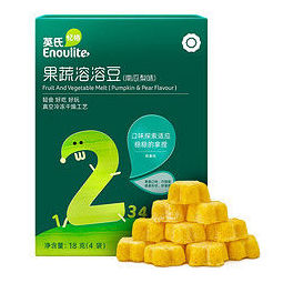 Enoulite 英氏 果蔬溶溶豆 2阶 南瓜梨味 18g