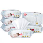HUGGIES 好奇 金装 婴儿手口湿巾 80抽*6包