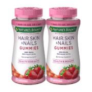 NATURE'S BOUNTY 自然之宝 发肤甲胶原蛋白软糖 80粒*2瓶¥104.00 6.5折 比上一次爆料降低 ¥0.9
