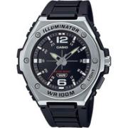 CASIO 卡西欧 Collection MWA-100H-1AVEF 男士石英手表