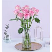 plus会员:花点时间 雪山玫瑰10枝 单色随机9.86元包邮(双重优惠)