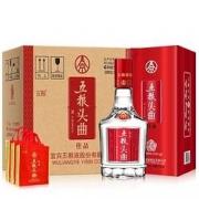 WULIANGYE 五粮液 五粮头曲 佳品 52度 浓香型白酒 500ml*6瓶 整箱装349元包邮(双重优惠)