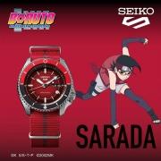 SEIKO 精工 博人传联名款 SEIKO 5系列 男士腕表 SRPF67K1