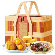 WU FANG ZHAI 五芳斋 五芳欢沁 月饼礼盒 混合口味 1.085kg¥35.60 2.0折 比上一次爆料降低 ¥12.1