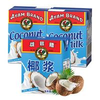 AYAM BRAND 雄鷄標 椰浆 组合装 200ml*3盒