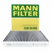 MANN FILTER 曼牌滤清器 CUK26009 空调滤清器36.48元(需买4件,共145.92元包邮)