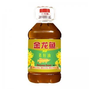 88VIP:金龙鱼 醇香菜籽油 5L/桶*2件