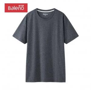 Baleno 班尼路 圆领男短t恤 88802215 XL 00A *2件