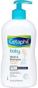 Cetaphil 丝塔芙 婴幼儿金盏花洗发沐浴二合一 399ml