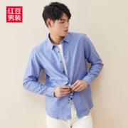 Hodo 红豆 男士长袖衬衣¥19.90 0.9折