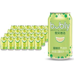 pepsi 百事 蜜柚味气泡水  330ml*24瓶