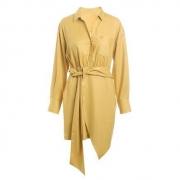Five Plus 5+ 女士不规则衬衫裙 2ZF3086710410103元包邮(需用券)