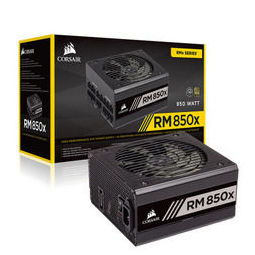 USCORSAIR 美商海盗船 RM850x 金牌(90%)全模组ATX电源 850W
