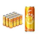 MIRINARA 美年达 Mirinda 橙味 果汁气泡饮 碳酸饮料 可乐汽水 细长罐 整箱装 330ml*12罐 百事出品23.33元(需买5件,共116.65元)