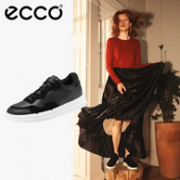 ECCO 爱步 Soft X柔酷系列 女士真皮拼接运动鞋新低411.19元包邮(天猫1399元)