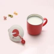 udaone 柚芽 婴儿不锈钢吸管杯 带硅胶吸管19元包邮(需用券)