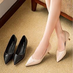 AOKANG 奥康 106211001 女士淑女猫跟时装单鞋