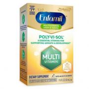 Mead Johnson 美赞臣 Enfamil 铂睿 Poly-Vi-Sol 婴儿复合维生素滴剂50ML