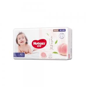 88VIP:HUGGIES 好奇 铂金装系列 婴儿拉拉裤 L42片*3件