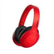SONY 索尼 WH-H910N 耳罩式头戴式无线蓝牙降噪耳机 红色