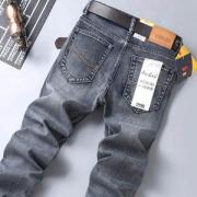 ENKOM LEE 男士四季弹力直筒宽松牛仔裤69.9元包邮
