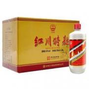 PLUS会员:红川 特曲 红标 50度 浓香型白酒 500ml*12瓶172元包邮(双重优惠)