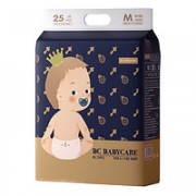 babycare 皇室弱酸系列 婴儿纸尿裤 M25片¥42.40 3.6折 比上一次爆料降低 ¥0.01