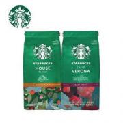 STARBUCKS 星巴克 咖啡粉爆款2件套(特选综合200g*1 +佛罗娜200g*1)100元(需买2件,共200元)