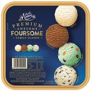 MUCHMOORE 玛琪摩尔 冰淇淋进口冷饮 家庭四合一 (巧克力+古蒂糖+香草+奶油曲奇 )  2L¥88.00 5.6折 比上一次爆料降低 ¥5