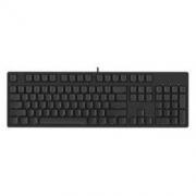 iKBC C104 104键 有线机械键盘 侧刻 黑色 Cherry红轴 无光299元