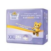 88VIP、有券的上:Teddy Bear 泰迪熊 呼吸特薄系列 婴儿拉拉裤 XXL24片 拍2件83.12元 ( 返10元猫卡后,合36.56元/件)