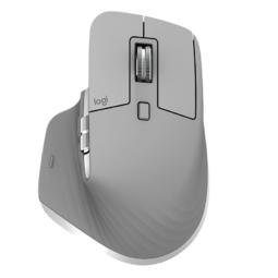 logitech 罗技 MX Master 3 2.4G蓝牙 无线双模鼠标 4000DPI 科技灰