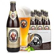 Franziskaner 范佳乐 原教士)大棕瓶 德国小麦白啤酒 450ml*12瓶 整箱装59元