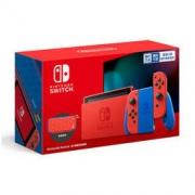 Nintendo 任天堂 国行 Switch游戏主机 续航增强版 马力欧限定版套装