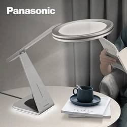 PLUS会员:Panasonic 松下 HHLT0650 致魅 护眼台灯 导光板全域光 22w