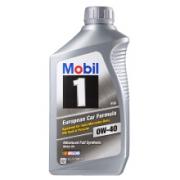 Mobil 美孚 1号 0W-40 SN级 全合成机油 946ml*6件234.6元包邮包税(需买6件,合39.1元/件)