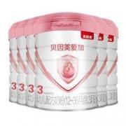 BEINGMATE 贝因美 爱加系列 幼儿奶粉 国产版 3段 800g*6罐