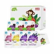 LittleFreddie 小皮 欧洲原装进口常温儿童酸奶水果泥混合口味礼盒装 无添加糖盐169.3元