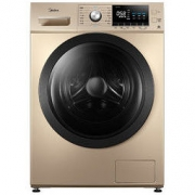 Midea 美的 简尚系列 MG100A5 滚筒洗衣机 10KG 金色1489.08元包邮(双重优惠)
