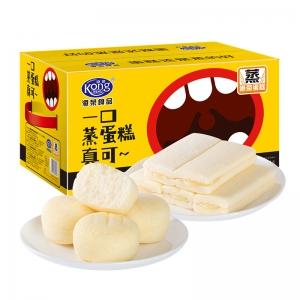 88VIP:港荣 蒸蛋糕 礼盒双拼 800g