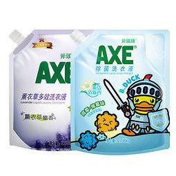 AXE 斧头 牌AXE洗衣液 薰衣草2.08kg+除菌2.08kg