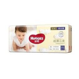 PLUS会员:HUGGIES 好奇 金装 婴儿拉拉裤 XXL 42片