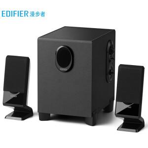 EDIFIER 漫步者 R101V 多媒体2.1音箱 黑色