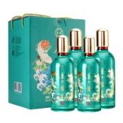 PLUS会员:金六福 50度浓香型白酒礼盒 铭品12 500ml*4瓶+礼袋