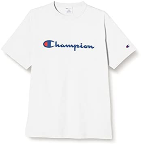 Champion冠军日版经典针织印花T恤 C3-P302