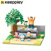 PLUS会员:QMAN 启蒙 Keeppley 哆啦A梦系列 K20409 水泥管空地144元包邮(需用券)
