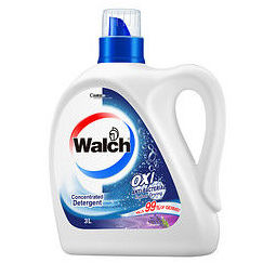 PLUS会员:Walch 威露士 有氧洗衣液+免洗洁手液套装 3kg+1kg*3袋+20ml 薰衣草香